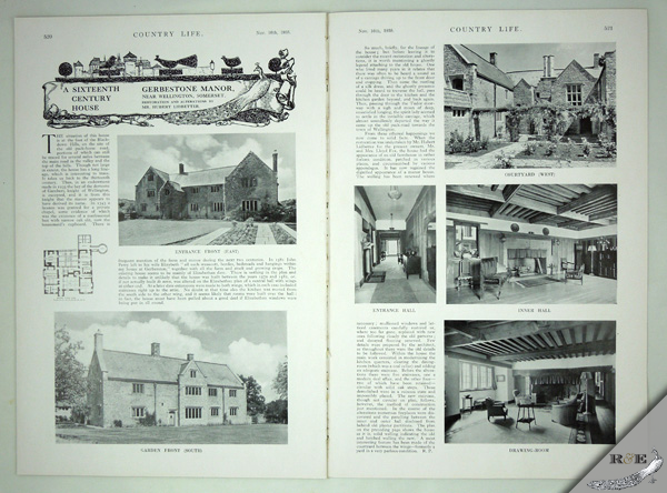 Gerbestone Manor Magazine