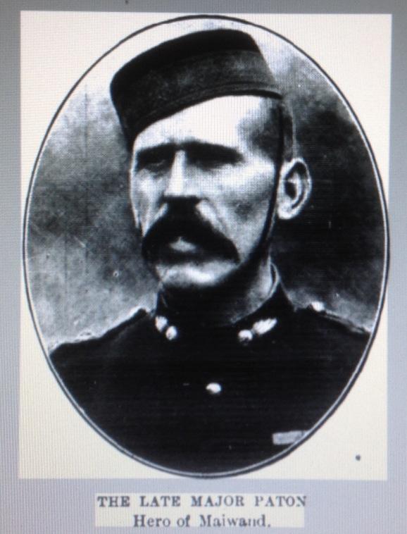 Late Major W Paton