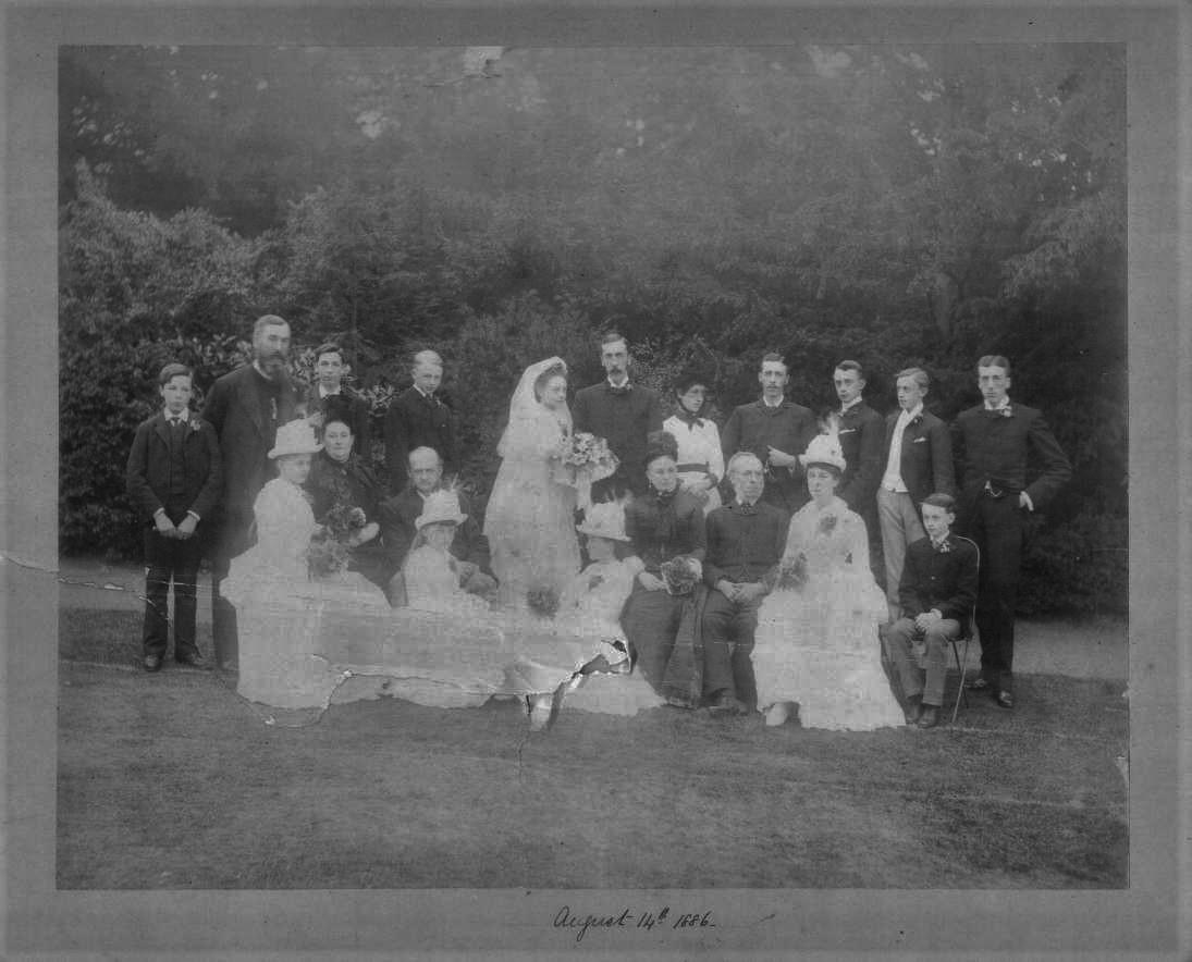 George Hunt Kathleen Warner Wedding