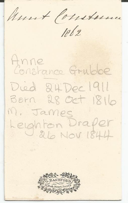 Anne Constance Grubb a
