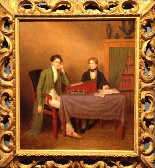 John Burke (1786–1848) and his son Sir John Bernard Burke, CB (1814–1892)