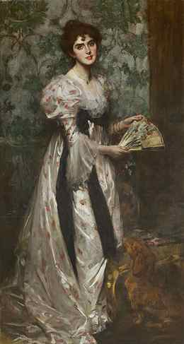 Mrs Harold Burke 1898 by by James Jebusa Shannon.