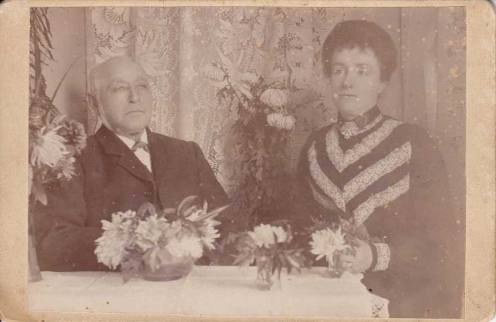 Alice M M Dillon & husband