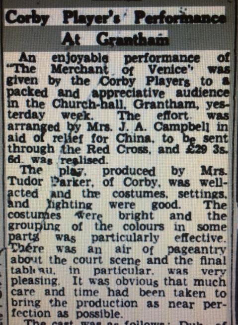 corby drama performance 1