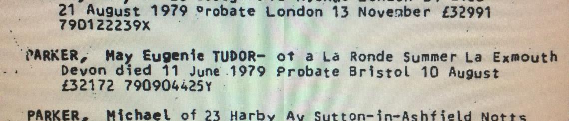 may eugenie tudor death. 11 jun 1979.