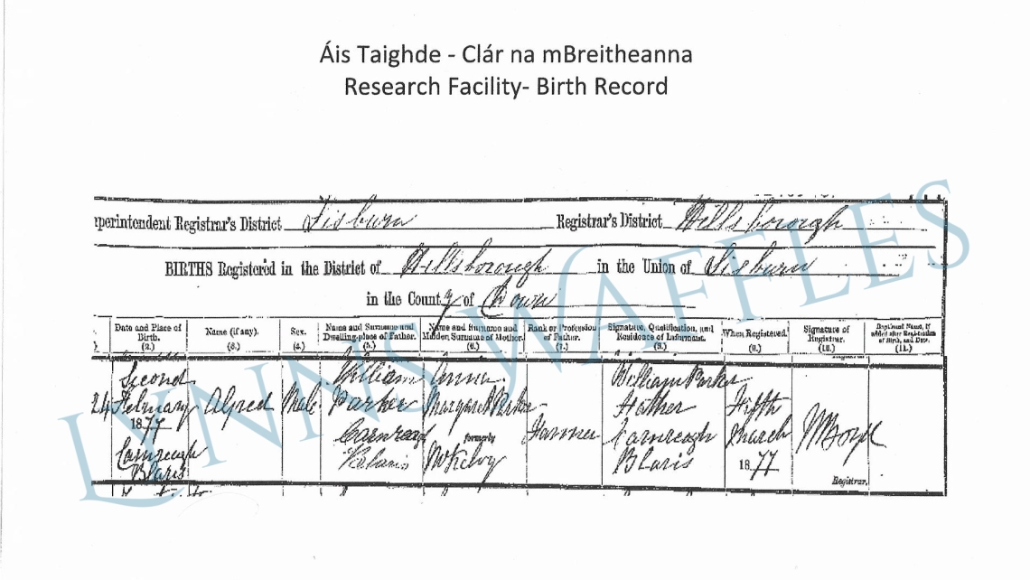 Alfred Parker Birth Certificate.jpg