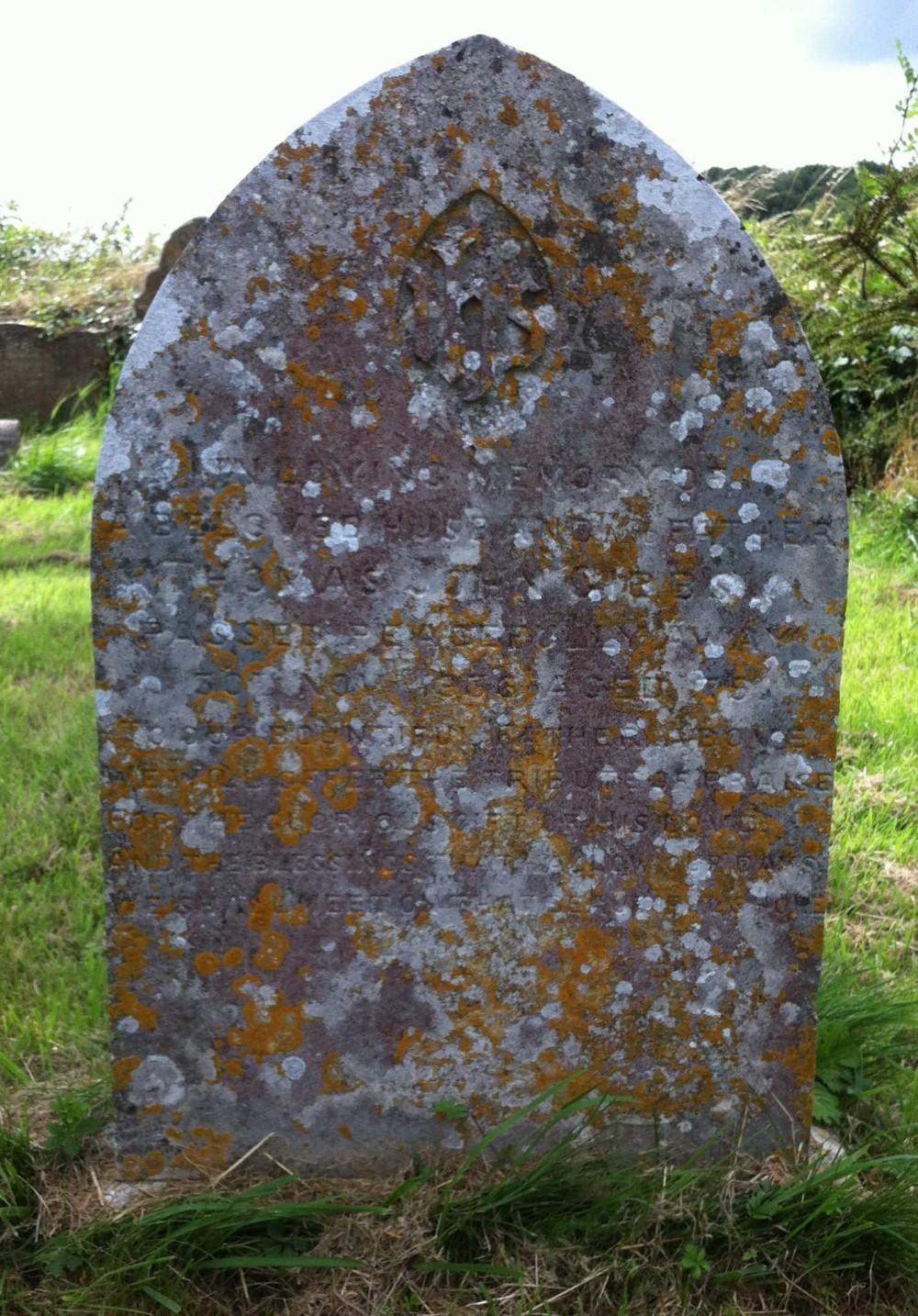 Headstone Thomas John Gibbs St Marys Beaminster