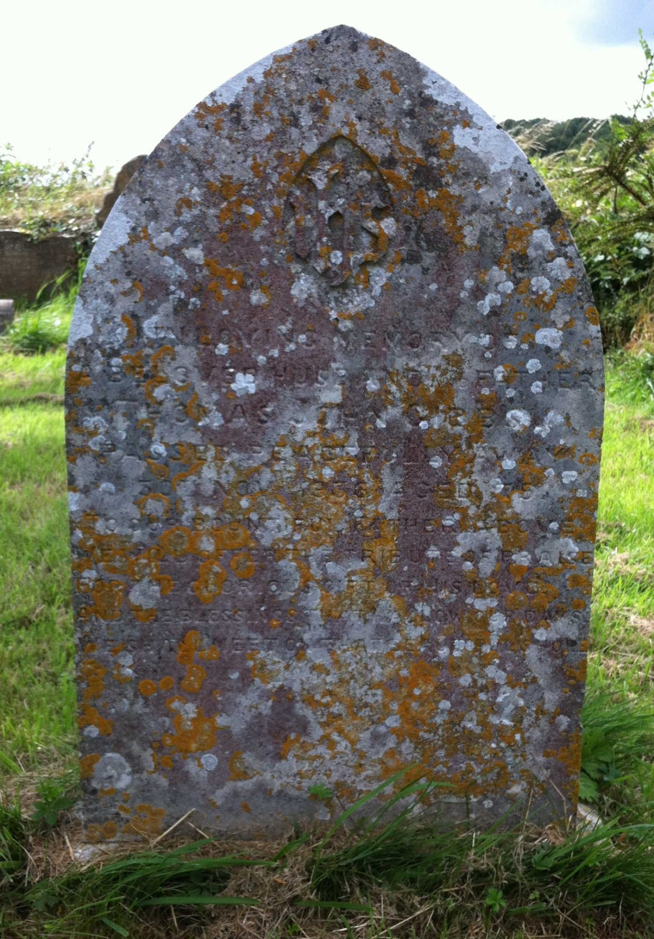 Headstone Thomas John Gibbs St Marys Beaminster