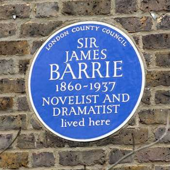 barrie-plaque-new. 100 bayswater road