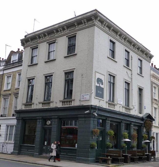 British Oak, now The Oak at 137 Westbourne Park Road, Paddington 1871