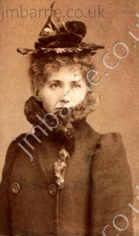 Mary Ansell, later Barrie's wife, May 1893 -