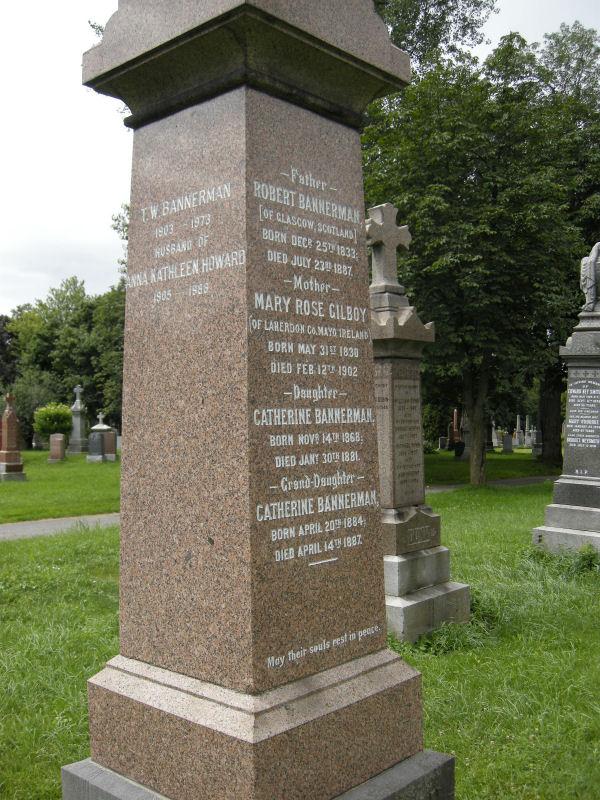Bannerman Memorial