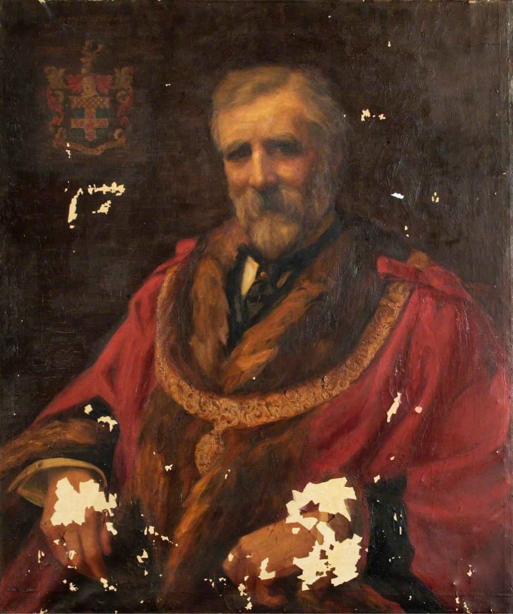 unknown artist; Charles Hendrick (Portrait of the Mayor of Hampstead)