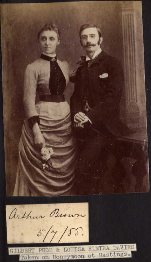 Found on Ancestry Honeymoon pic