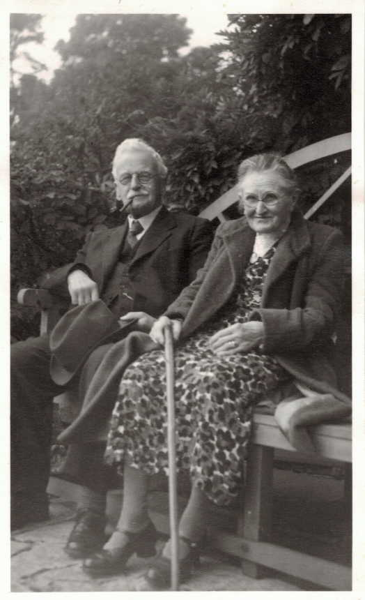 Frank and Nell Cozens Oct 1949