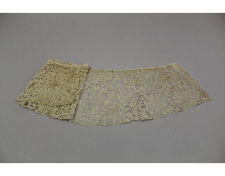 Frances Anna Higgon Colby Lace collar
