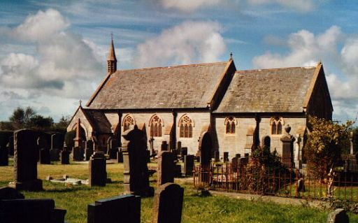 St David's new church, manordivey 1898