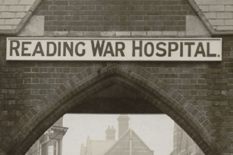 Reading workhouse and infirmary was taken over and transformed into a war hospital in 1915 (Image Picture Reading Libraries)